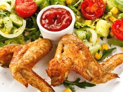 Куриные крылышки в аэрогриле рецепт с фото