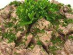 Печень говяжья в аэрогриле рецепты фото