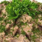Печень говяжья в аэрогриле — рецепт как приготовить