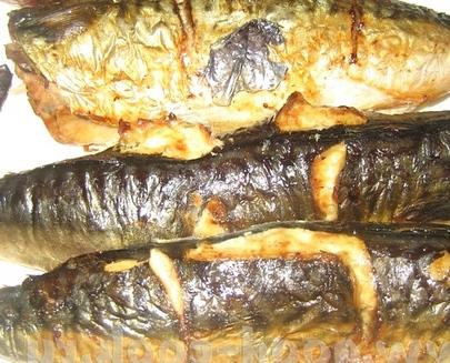 Копченая рыба в аэрогриле