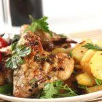 Курица в аэрогриле с картошкой — рецепт