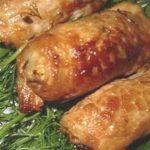 Мясо с грибами в аэрогриле