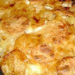 Картошка с мясом в аэрогриле