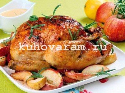 Курица в аэрогриле целиком рецепт с фото - nu 39