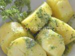Картошка в рукаве в аэрогриле фото