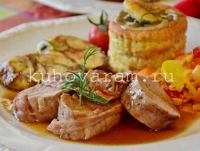 Свинина в фольге в аэрогриле рецепты.Фото пошагово