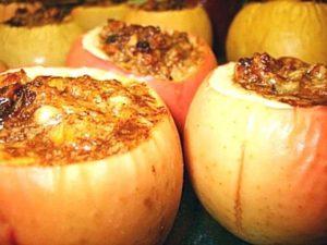 Яблоки запеченные в аэрогриле рецепты с фото