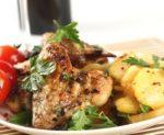 Курица с картошкой в аэрогриле рецепты с фото